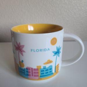 starbucks Florida you are here collectors mug